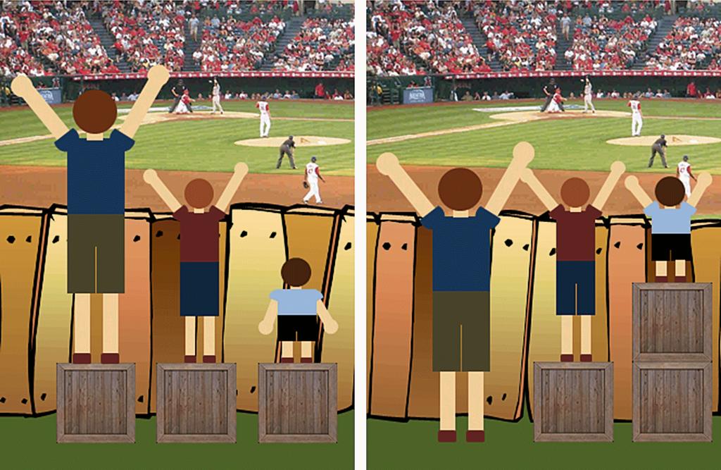 Igualdade vs. Equidade